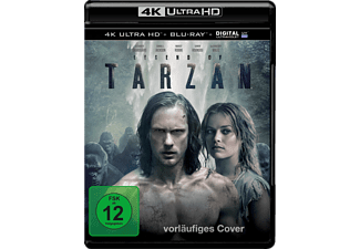 Legend of Tarzan - (4K Ultra HD Blu-ray + Blu-ray)