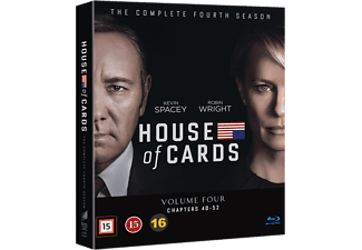 House of Cards Säsong 4 Blu-ray Blu-ray