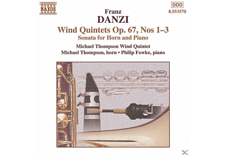 Michael Thompson Wind Quintet & Fowke, Michael Wind Quintet Thompson - Bläserquintette op.67 1-3 - (CD)