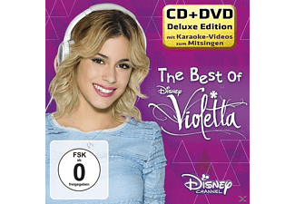 Martina Stoessel, Jorge Blanco, Mercedes Lambre, VARIOUS - The Best Of Violetta-Deluxe CD+DVD [CD + DVD Video]