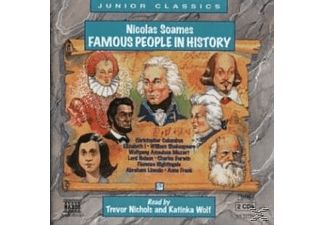 FAMOUS PEOPLE IN HISTORY - 2 CD - Kinder/Jugend
