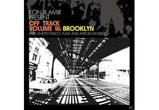 KON/AMIR PRESENT - Off Track Vol.3: Brooklyn ( - (Vinyl)