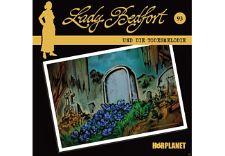Various - Lady Bedfort 93: Die Todesmelodie [Krimi/Thriller, CD]