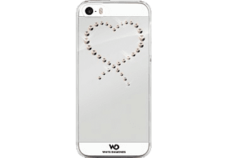 WHITE DIAMONDS Eternity, Backcover, iPhone 5/5s/SE, Transparent/Rosegold