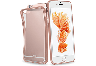 SBS MOBILE SBS MOBILE Gold Collection Extraslim Cover iPhone 6/6S Rosa