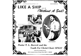 "T.L.Barrett & The Youth For Christ Choir - Like A Ship...(Without A Sail)LP & 7"" - (Vinyl)"