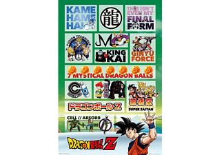Dragonball Z Poster Infographic