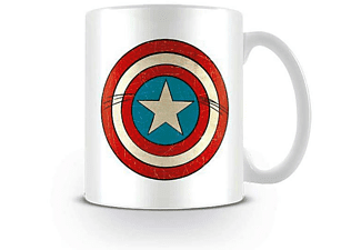 Marvel Retro Comic Tasse Captain America Schild