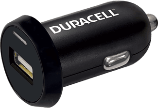 DURACELL Car Charger Single USB 2.4A Black- (DR5020A)