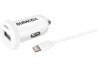 DURACELL Car Charger Single USB 2.4Α - (DR5021W)