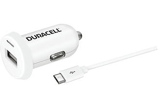DURACELL Car Charger Single USB 2.4Α - (DR5022W)