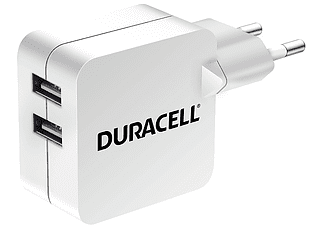 DURACELL TRAVEL CHARGER DL USB OUTPUT 4.8A WH - (DRACUSB4W-EU)
