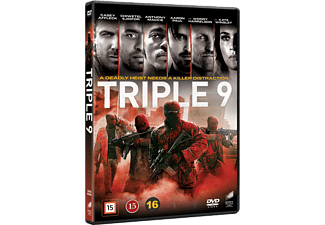 Triple 9 DVD Action DVD