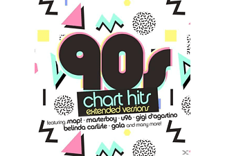 VARIOUS - 90s Chart Hits-Extended Versions [CD]