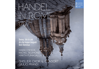 Giulio Prandi /Ghislieri Choir & Consort - Händel in Rom 1707 [CD]