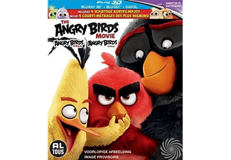 Angry Birds Movie (3D) | Blu-ray