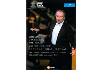 Gergiev/World Orchestra for Piece - At The Abu Dhabi Festival [DVD]