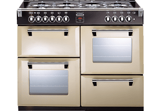 STOVES Richmond 100DF, Standherd, EEK: A, 33 Liter, Champagner