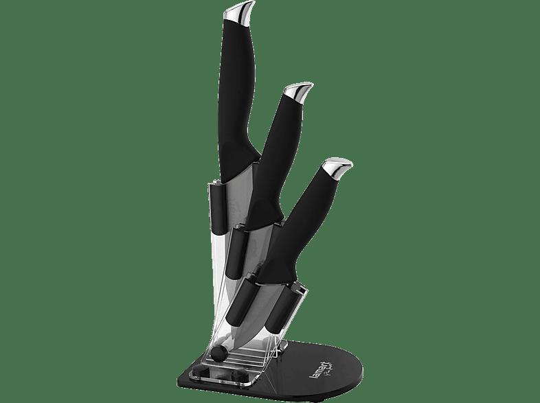 LAMART Σετ 3 μαχαίρια σε ακρυλική βάση (LT2018) είδη σπιτιού   μικροσυσκευές για το σερβίρισμα σκεύη σερβιρίσματος μικροσυσκευές