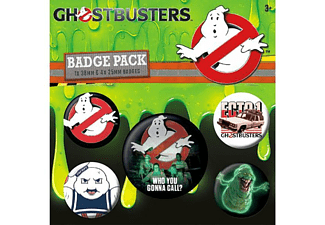 Ghostbusters 3 Button Set Who You Gonna Call?