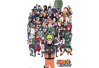 Naruto Shippuden Poster All Characters