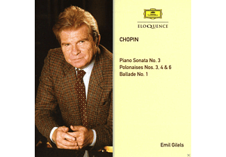Emil Gilels - Gilels Plays Chopin - (CD)