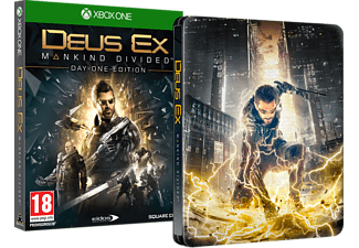 Deus Ex: Mankind Divided Day One Edition Steelbook Action Xbox One