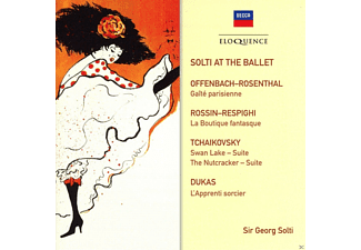 Sir Georg Solti, Orchestra Of The Royal Opera House, Israel Philharmonic Orchestra, Chicago Symphony Orchestra - Solti At The Ballet - (CD)