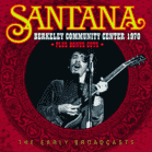 Carlos Santana - Berkeley Community Center 1970...