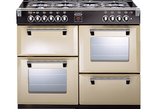 STOVES Richmond 110DF, Standherd, EEK: A, 37 Liter, Champagner