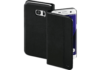 TOM TAILOR Structure, Bookcover, Galaxy S7 Edge, Nylon/Polyurethan (PU), Schwarz