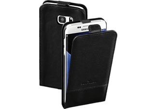 TOM TAILOR Structure, Flip Cover, Samsung, Galaxy S7 Edge, Nylon/Polyurethan (PU), Schwarz