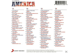 VARIOUS - Ultimate... America [CD]
