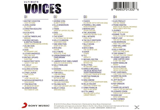 VARIOUS - Ultimate... Voices - (CD)