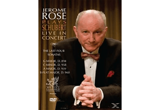 Jerome Rose - Jerome Rose Plays Schubert Live in Concert: The 4 Last Sonat - (DVD)