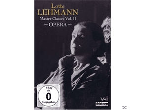 ALLEN/CHRONIS/CRUZ/DRAKE/NOEL/SANDL, Lehmann/Allen/Chronis/+ - Master Classes 2:Lotte Lehmann - (DVD)