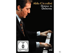 Ciccolini Aldo - Homage To Debussy - (DVD)
