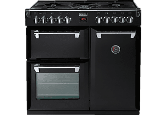 STOVES Richmond 90DF, Standherd, EEK: B, 33 Liter, Schwarz