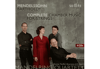 Mandelring Quartett, Quartetto Di Cremona, VARIOUS - Complete Chamber Music For Strings [CD]