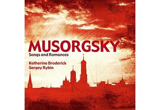 Katherine  Broderick, Sergey Rybin - Musorgsky Songs And Romances [CD]