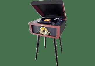 roadstar retro stand plattenspieler im nostalgie design. Black Bedroom Furniture Sets. Home Design Ideas