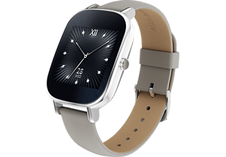 ASUS  Zenwatch 2 Smart Watch Leder, 113 mm, Silber