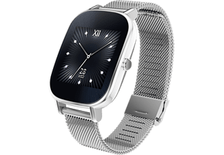 ASUS ZenWatch 2, Smart Watch, Metall, 113 mm, Silber