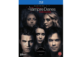 The Vampire Diaries Säsong 1-7 Blu-ray Drama Blu-ray