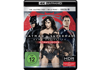 Batman V Superman - Dawn Of Justice (Ultimate Edition inkl. Extended Cut) - (4K Ultra HD Blu-ray + Blu-ray)