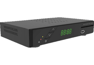 EASY ONE 740 DVB-T HD IR DVB-T2 HD Receiver (PVR-Funktion, DVB-T2 HD, Schwarz)