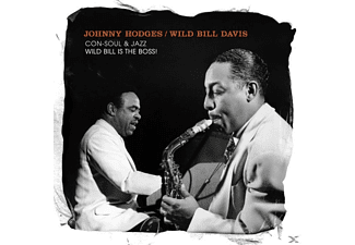 Johnny/wild Bill Hodges - Con-Soul & Jazz/Wild Bill Is The Boss [CD]