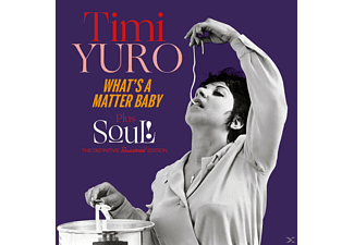 Timi Yuro - What's A Matter Baby+Soul!+5 Bonus Tracks [CD]