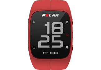 POLAR M400 Special Edition, Sportuhr, 130-230 mm, Rot