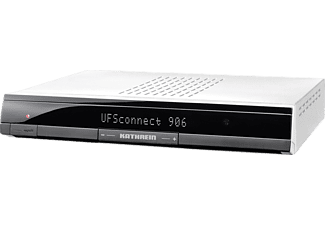 KATHREIN UFSCONNECT 906SI Receiver (PVR-Funktion, DVB-S, DVB-S2, Silber)